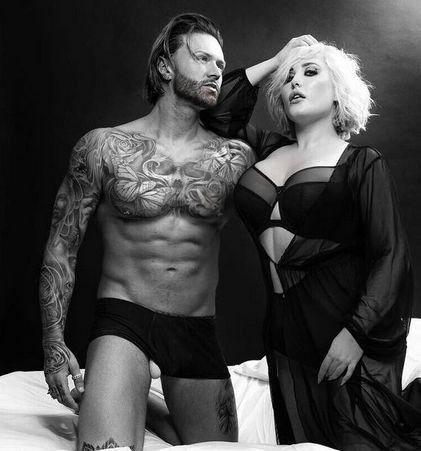 kyle christie underwear with then girlfriend hayley hasselhoff