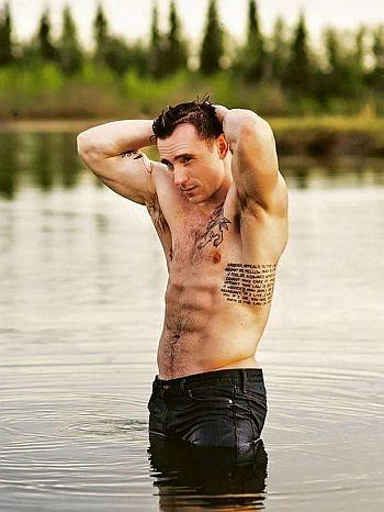 luke thompson shirtless - other lukes - oregon usa model actor