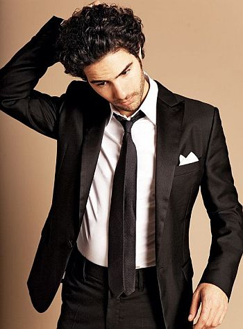 tahar rahim sexy in suit and tie