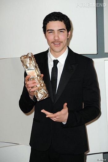 tahar rahim trophy in acting