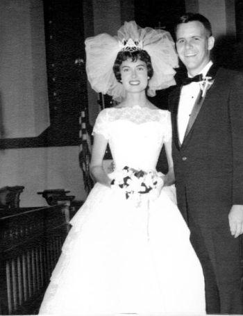 tom brokaw wedding - wife Meredith Lynn Auld - 1962