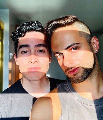 troy iwata gay boyfriend in real life - Gerardo Pelati