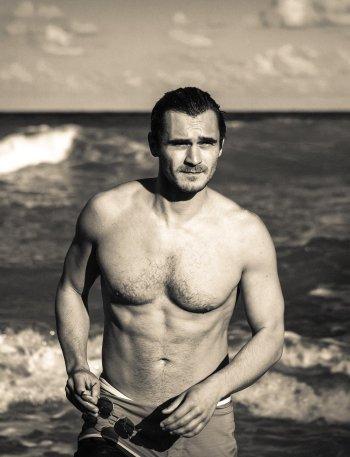 Julian Kostov body - celebrity chest hair