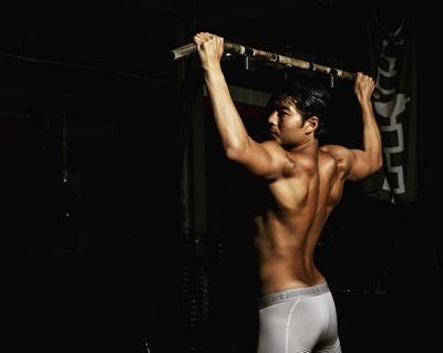 chase tang shirtless body
