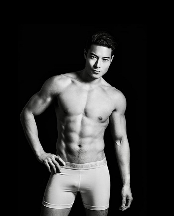 chase tang underwear model