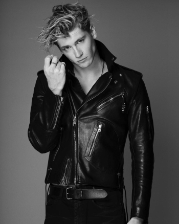danny griffin leather jacket by alexander mcqueen