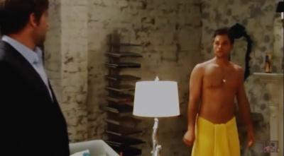 erik valdez underwear - towel