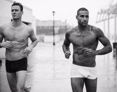 fitz henley hot underwear run
