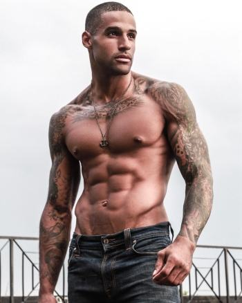 fitz henley shirtless in jeans