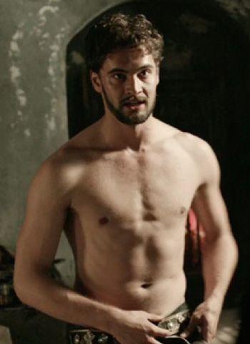 tom bateman shirtless body