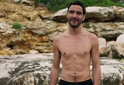Caio Blat shirtless mcmafia