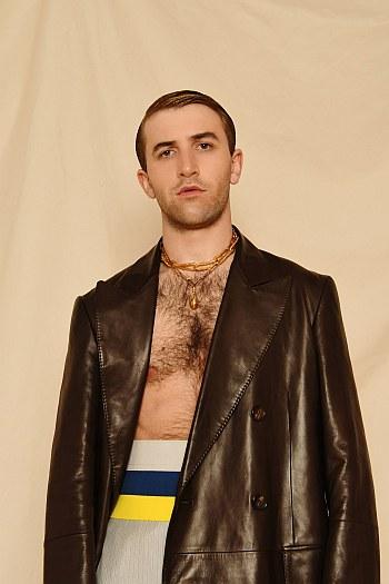 Callum Scott Howells chest hair