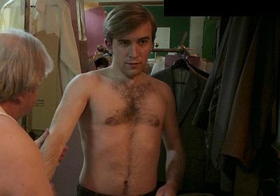Callum Scott Howells shirtless
