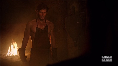 Christopher Russell body in lost girl