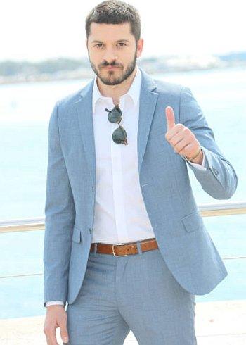 Dimitri Leonidas hot in suit