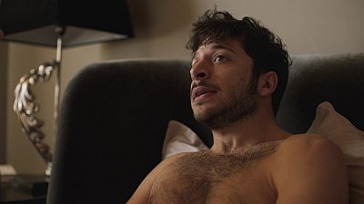 Dimitri Leonidas shirtless body
