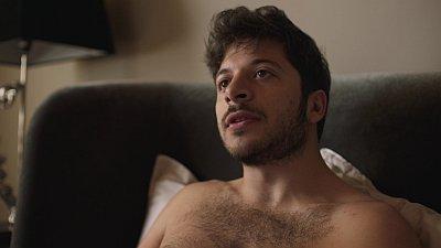 Dimitri Leonidas shirtless