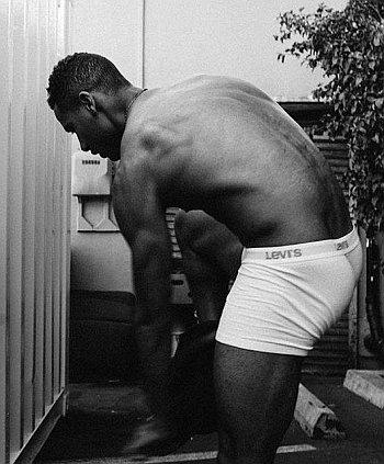 Elliot Knight underwear - levis boxer briefs