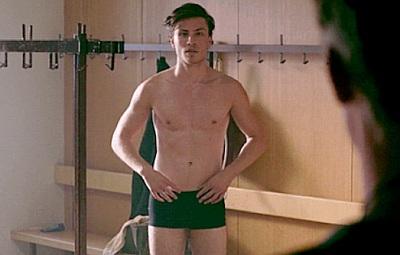 Jannik Schümann underwear in Centre of My World movie2
