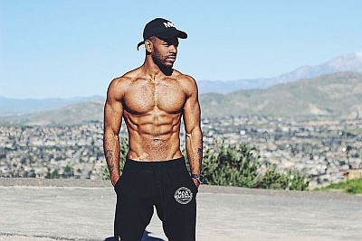 Hot Guys in Sweatpants Jermelle Simon