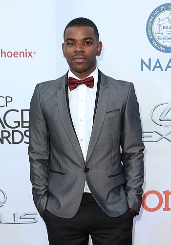 Jermelle Simon hot in suit - 46th NAACP Image Awards feb 2015