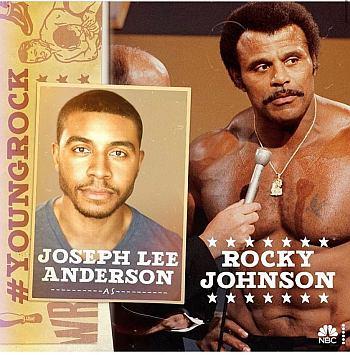 Joseph Lee Anderson as rocky johnson