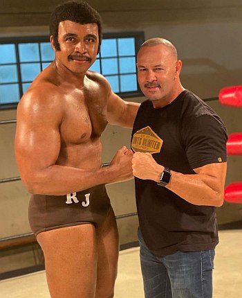 Joseph Lee Anderson young rock with chavo guerrero