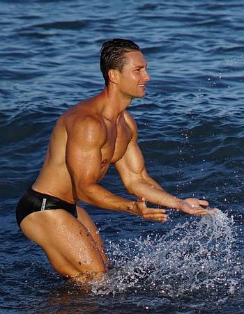 Men in Speedo Briefs 2021 - random male model
