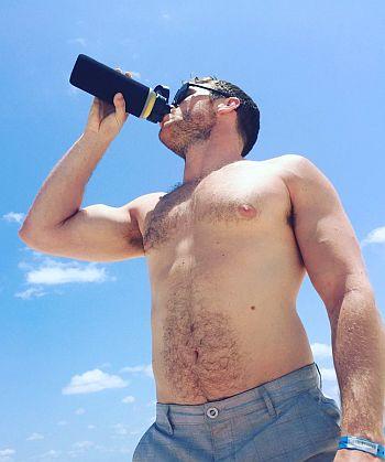 Mike Holmes Jr shirtless body