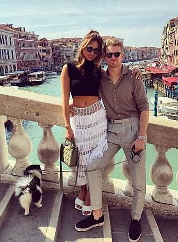 Nico Hulkenberg girlfriend Egle Ruskyte - engaged