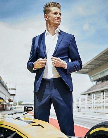 Nico Hulkenberg hot in suit