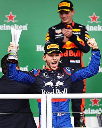 Pierre Gasly wins italian grand prix 2020