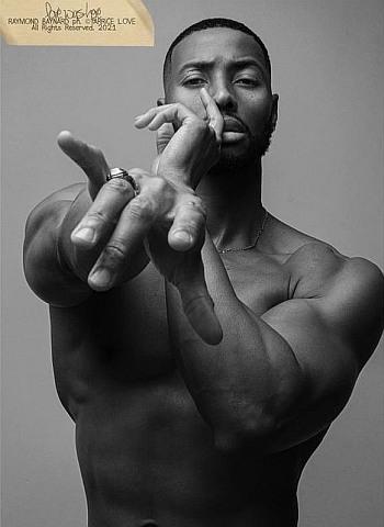 Raymond Baynard shirtless
