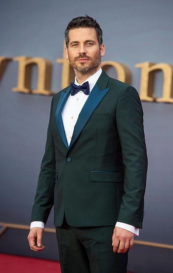 Robert James-Collier hot men in suits