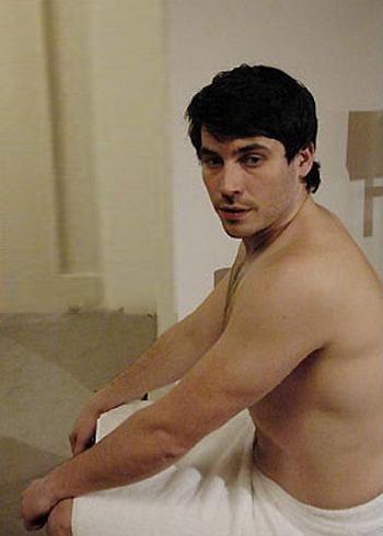 Robert James-Collier shirtless body