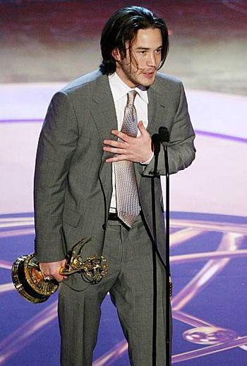 Tom Pelphrey emmy trophy - 2006 daytime emmy awards