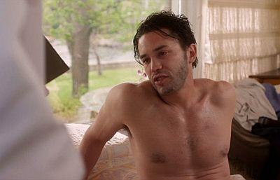 Tom Pelphrey shirtless body - 2012 movie excuse me for living