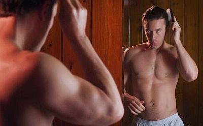 Tom Pelphrey shirtless