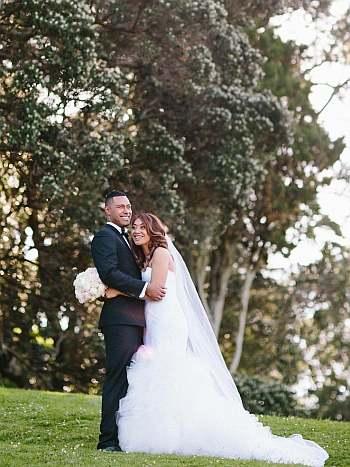 Uli Latukefu wife wedding day