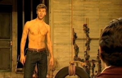 Wilf Scolding shirtless body
