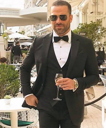 alejandro nones hot in suit - cannes film festival