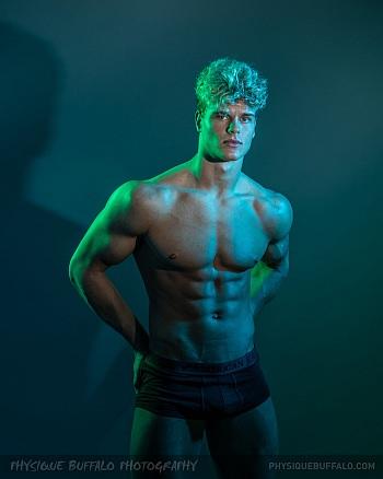 american eagle male underwear models - treston francis