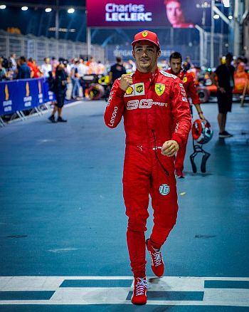 charles leclerc f1 race suit