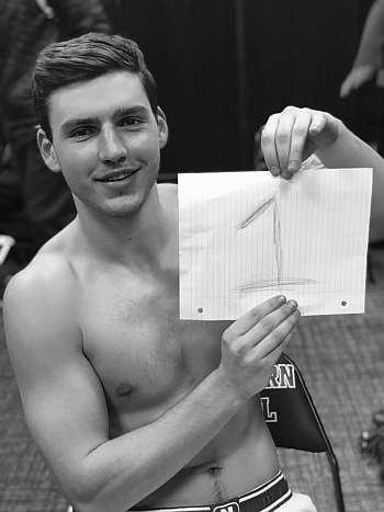 charlie hall shirtless college basketball player