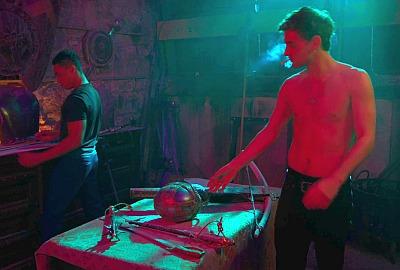 freddie thorp shirtless body in winx saga