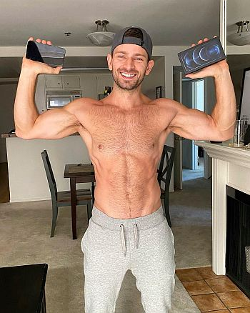 hot guys in sweatpants Derek Yates actor