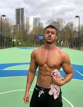 hot guys in sweatpants diego barros