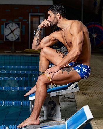 men in speedo - Filippo Magnini italian swimmer