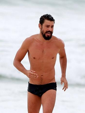 men in speedo - hot brazilian actor Cauã Reymond