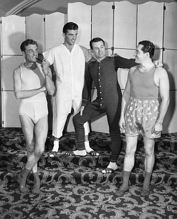 mens vintage underwear long johns and other styles